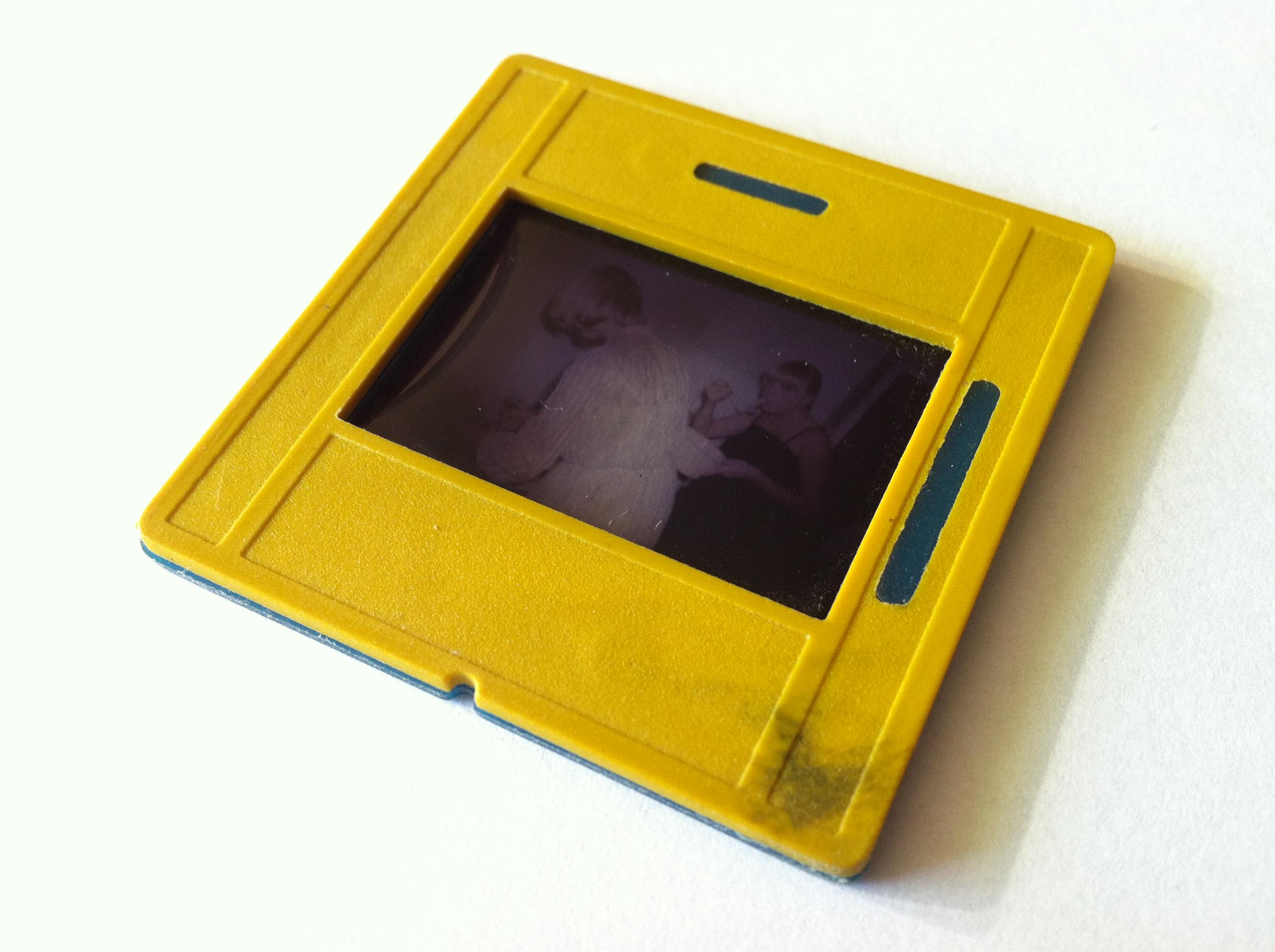 Slajd 35mm w plastikowej ramce